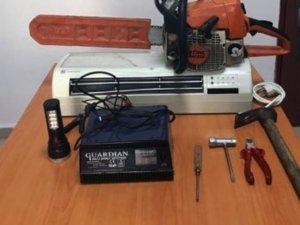 Menteşe'de kesim motoru hırsızlığı