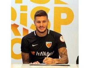 """Kayserispor'un yeni transferi Diego Angelo: """"Başarılı olmak için geldim"""""""