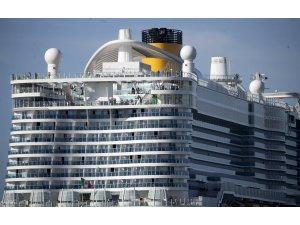 İtalya'da yeni tip koronavirüs şüphesiyle yolcu gemisi karantinaya alındı