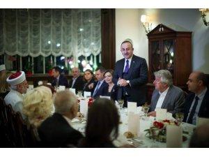 Bakan Çavuşoğlu, Sofya'da soydaş ve vatandaş temsilcileriyle bir araya geldi
