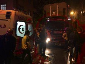 Üsküdar'da gecekondu yangını