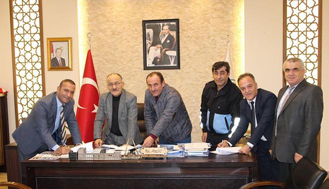 Beyşehir Belediyesi'nde toplu sözleşme sevinci