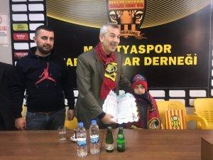 Haluk Cömertoğlu, Malatyaspor Taraftarlar Derneği onursal üyesi oldu