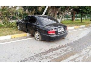 Otomobille beton mikseri çarpıştı: 1 ağır yaralı
