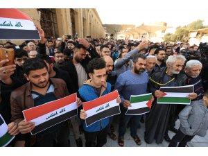 Iraklılar ABD'nin sözde Orta Doğu barış planını protesto etti