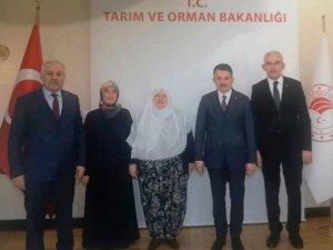 Tarım ve Orman Bakanı Pakdemirli, Mihalgazi Belediye Başkanı Akgün'ü kabul etti