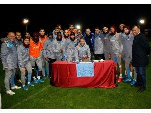 Trabzonspor, Fenerbahçe maçı hazırlıklarını tamamladı