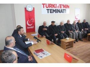Saadet Partisi, çevre yolu sorununu gündeme aldı