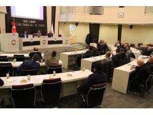 """Kayseri küçük Millet Meclisi'nde """"deprem"""" tartışıldı"""