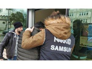 Samsun'da uyuşturucudan 3 kişiye adli kontrol