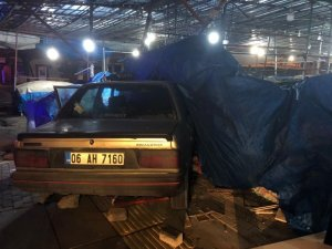 Ankara'da otobüs şoförünün hayatını trafik polisi kurtardı