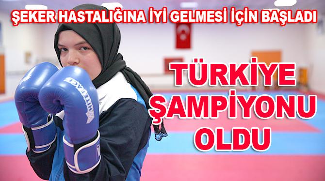 Şeker hastalığına iyi gelmesi için başladı! Türkiye şampiyonu oldu