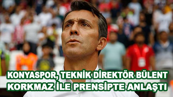 Konyaspor, teknik direktör Bülent Korkmaz ile prensipte anlaştı