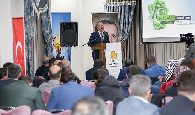 Kavuş genişletilmiş yönetim kurulu toplantısında icraatlarını anlattı