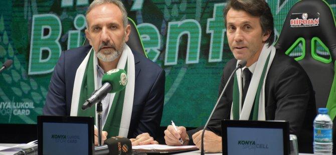 İttifak Holding Konyaspor, Bülent Korkmaz ile 1,5 yıllık sözleşme imzaladı