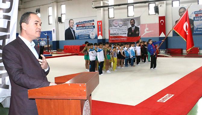 Analig Cimnastikte yarı finalistler Konya'da belli oldu