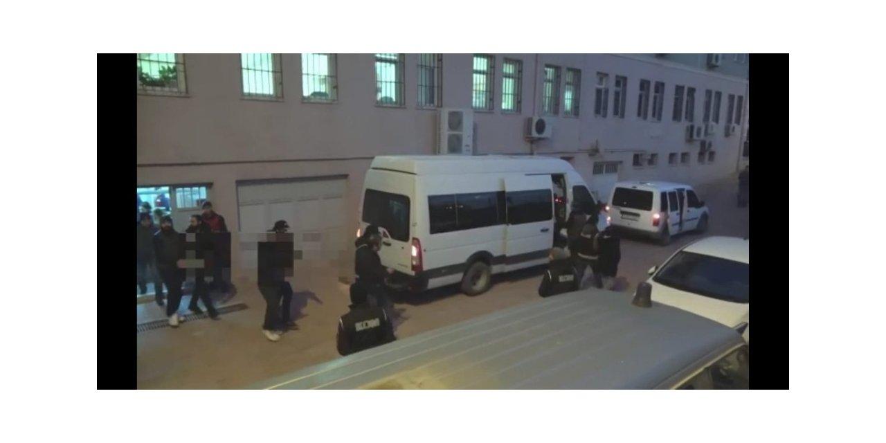 Suç örgütüne yönelik operasyonda 7 kişi tutuklandı