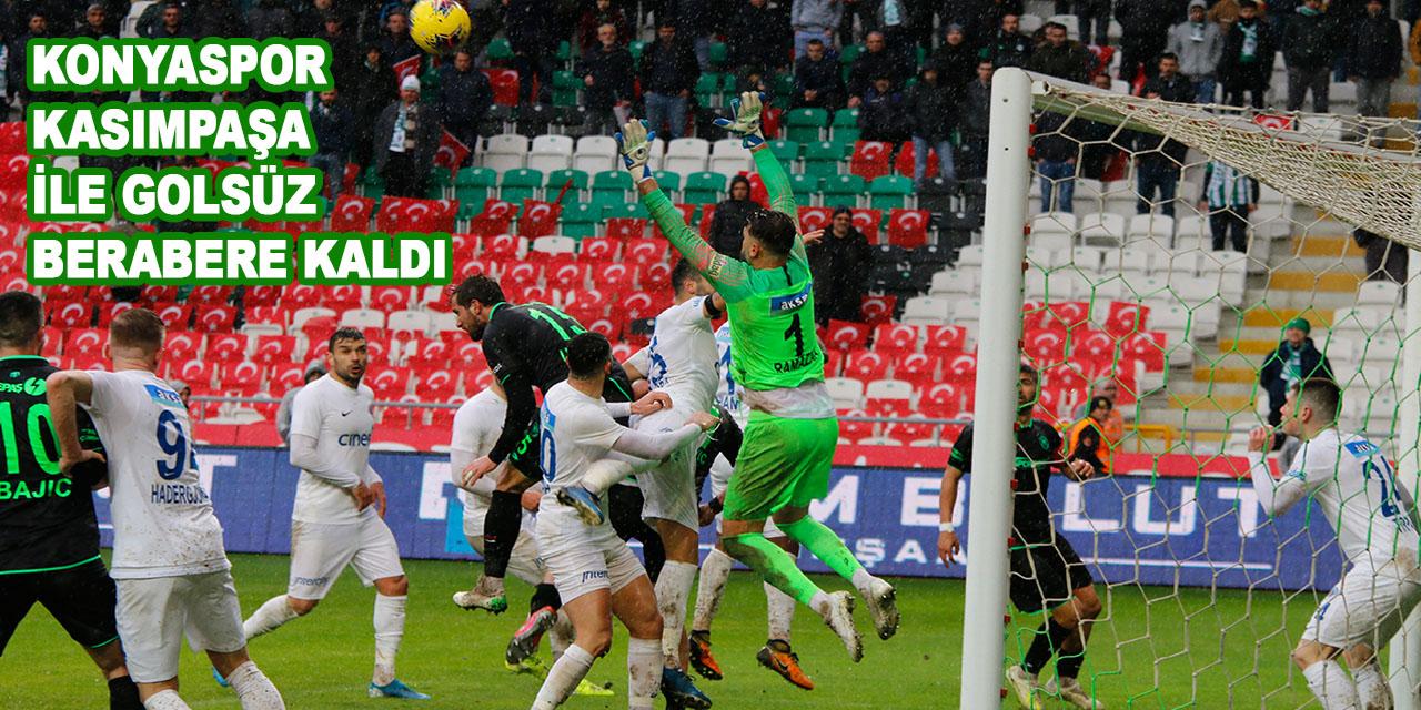 Süper Lig: Konyaspor: 0 - Kasımpaşa: 0