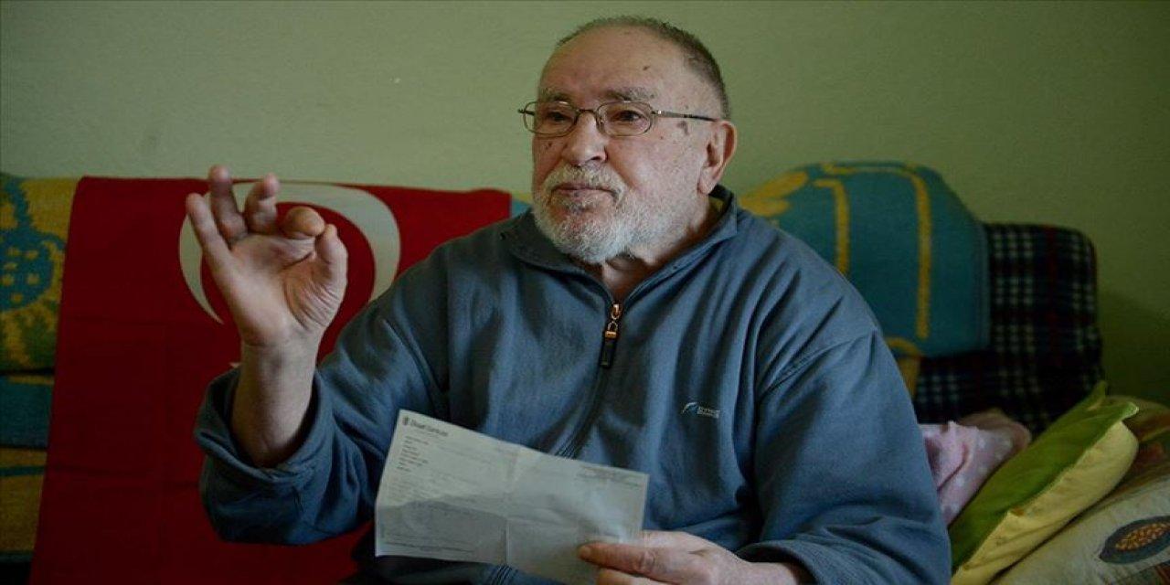 """Rahim Dede """"kefen parasını"""" Mehmetçik Vakfına bağışladı"""