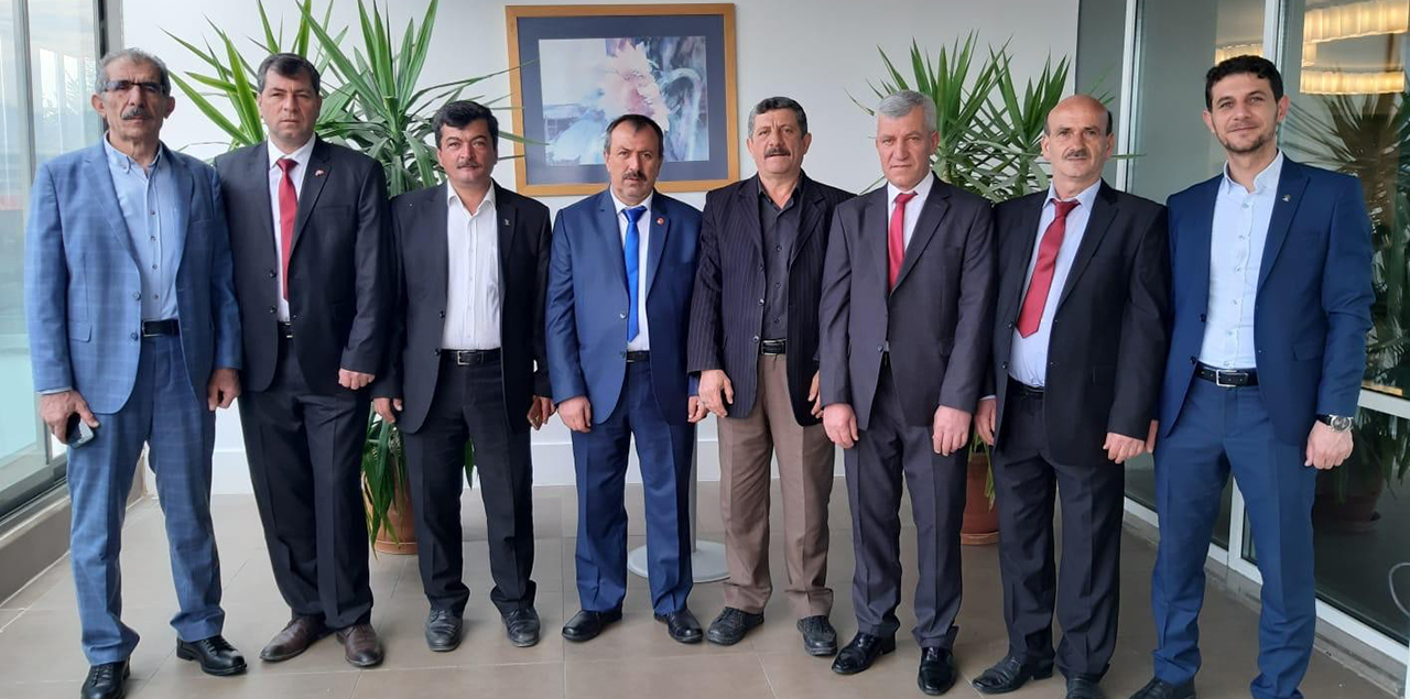 Hüyüklü belediye meclis üyeleri Afyonkarahisar'da