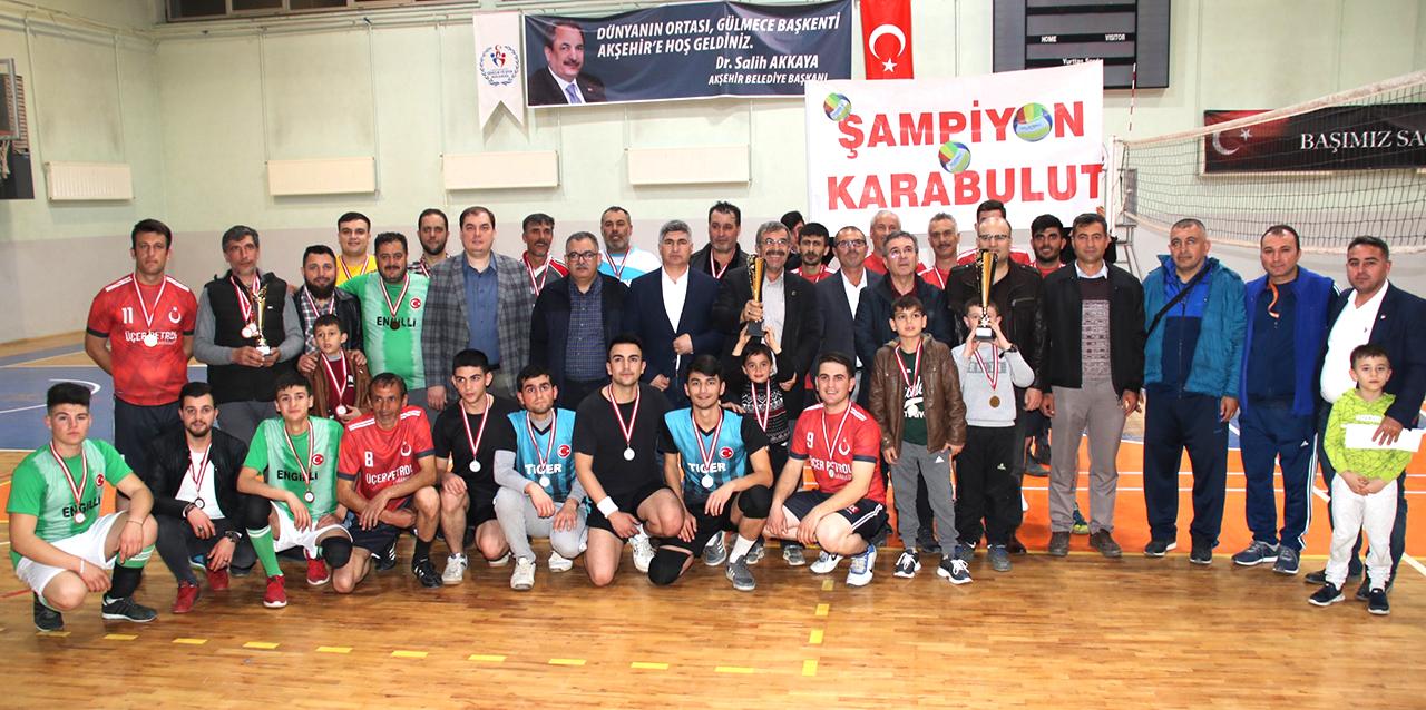 Şipitin Çıksın Voleybol Turnuvası sonuçlandı