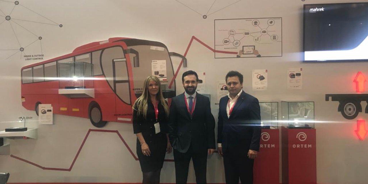 Busworld Türkiye Fuarı'na katılan ORTEM yeni iş birliklerine imza attı