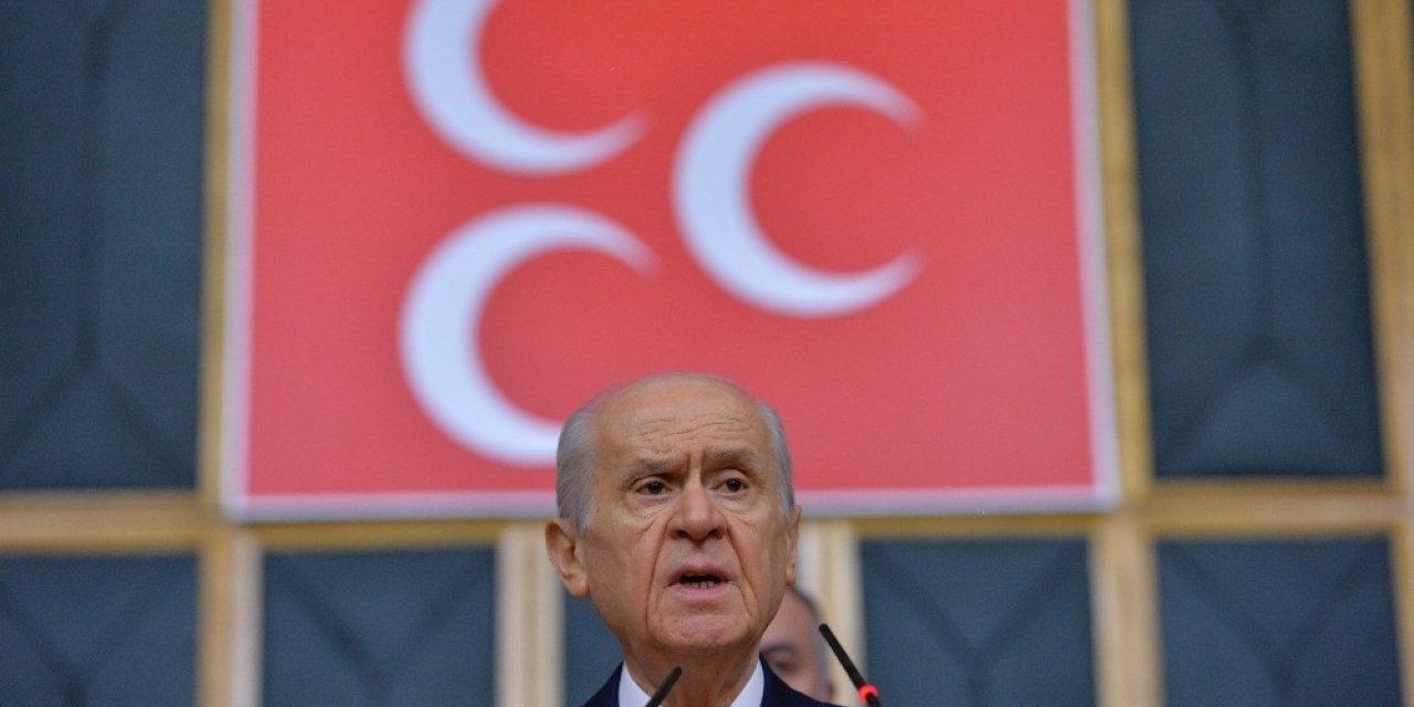 """MHP lideri Bahçeli: """"(Cumhurbaşkanı Erdoğan ve beraberindeki heyetin bekletildiği iddiası) Eğer Rusya yönetimi bunu kasıtlı bir şekilde kayda aldırıp sonra da servis ettirmişse bunun tanımı şüphesiz küstahlıktır, terbiy"""