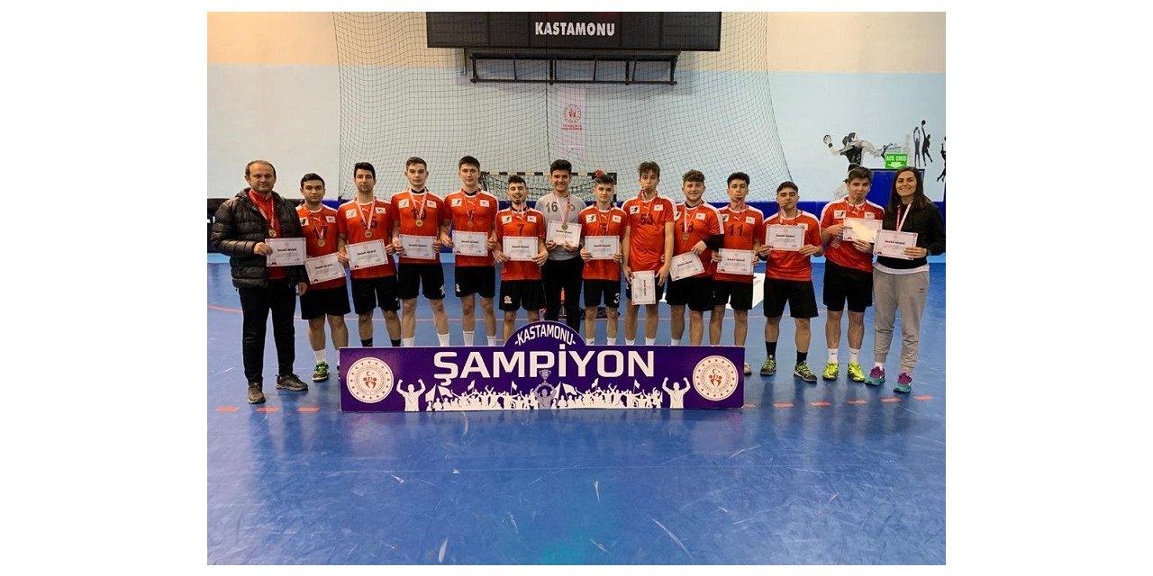 Hentbolda bölge şampiyonu Ortadoğulular