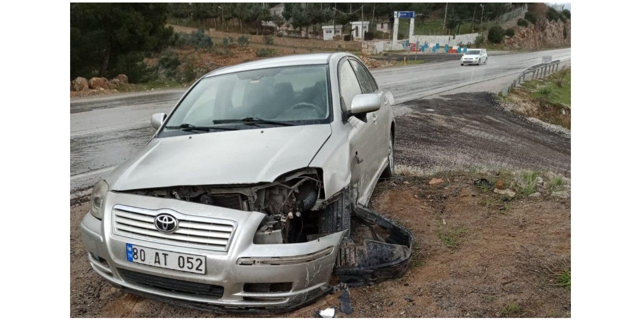 Ölüm yolunda 5 ayda üçüncü kaza: 2 yaralı