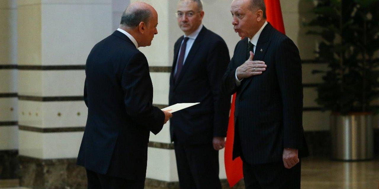 Cumhurbaşkanı Erdoğan, Arnavutluk Büyükelçisini kabul etti