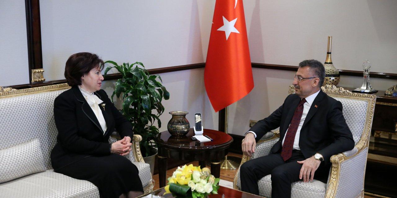 Danıştay Başkanı Güngör'den Cumhurbaşkanı Yardımcısı Oktay'a veda ziyareti