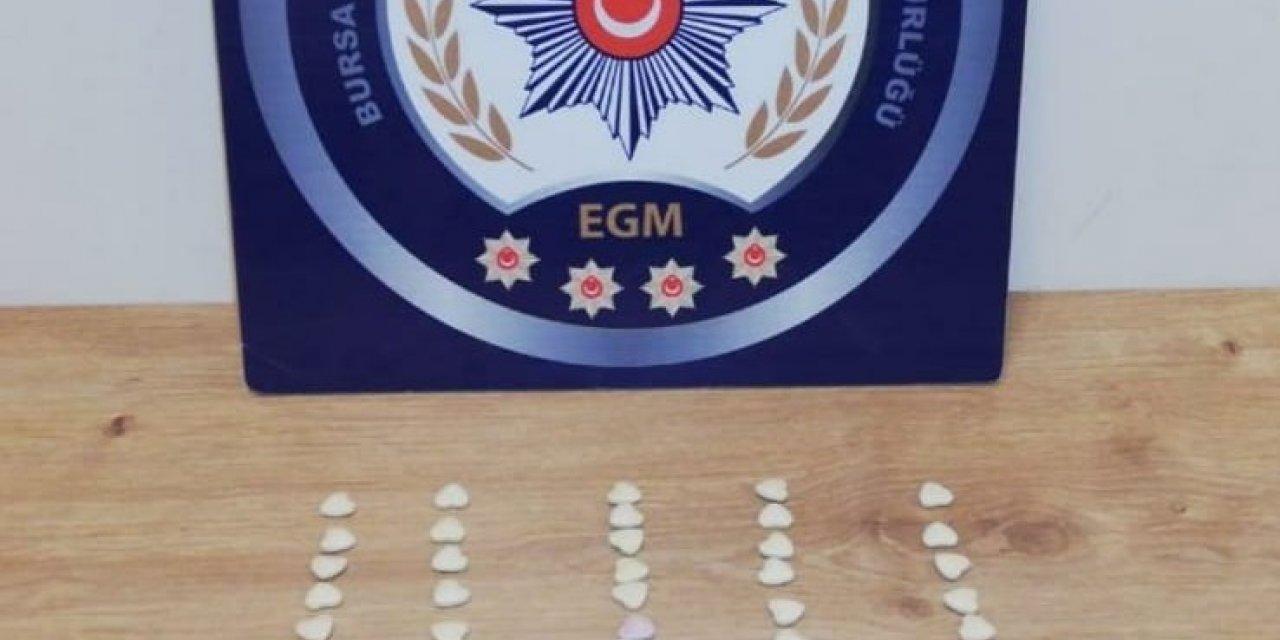 Bursa'da uyuşturucu operasyonu: 14 gözaltı