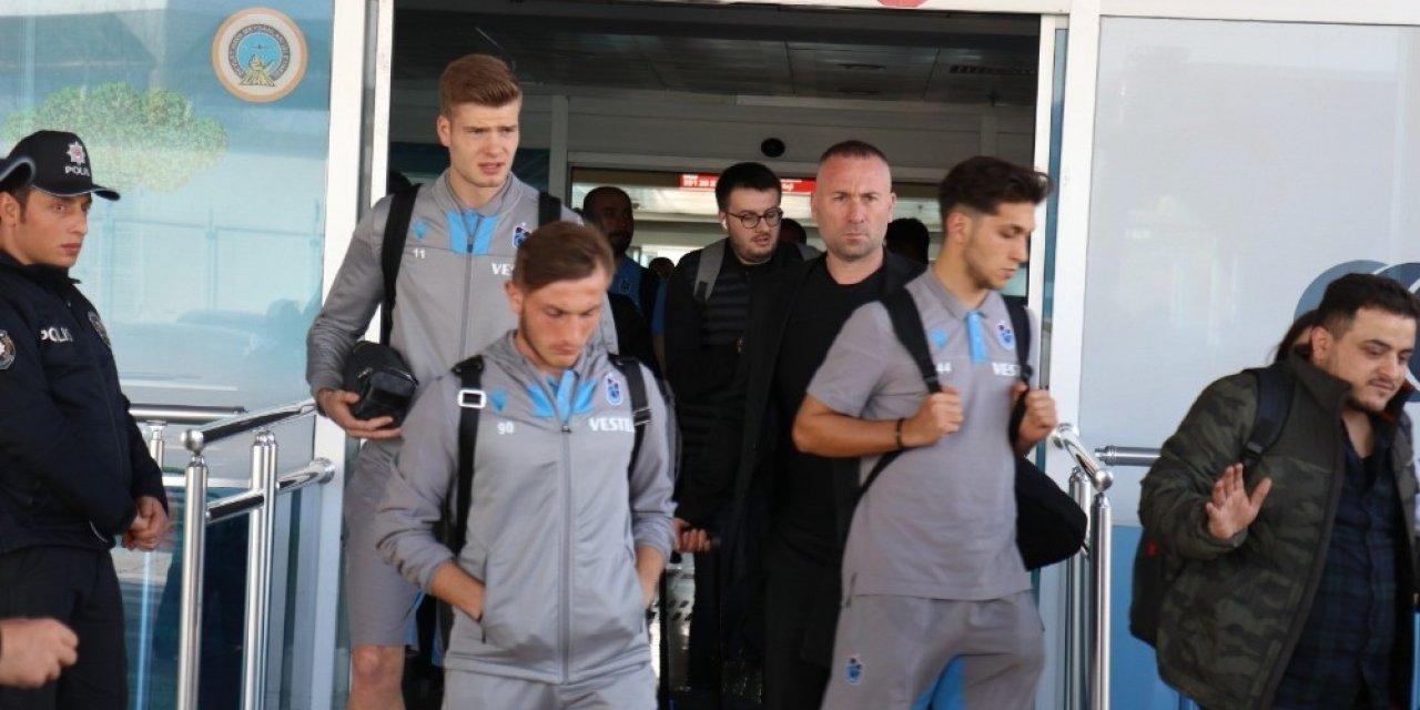 Trabzonspor erteleme maçı için Malatya'da