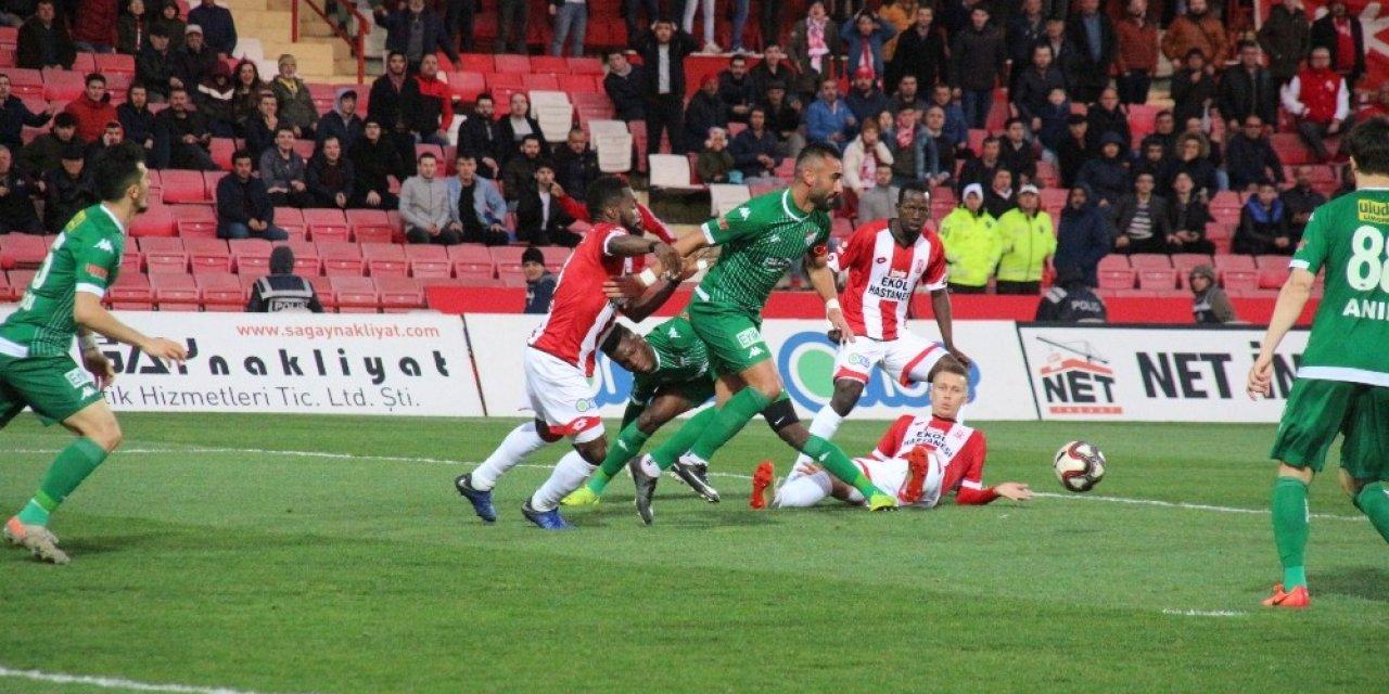 TFF 1. Lig: EH.Balıkesirspor: 0 -Bursaspor: 2 (İlk yarı sonucu)
