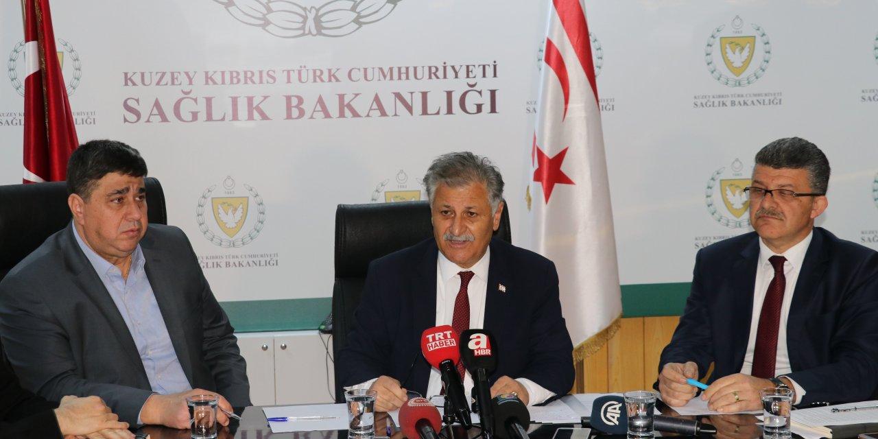 KKTC Sağlık Bakanı Pilli'den Kovid-19 açıklaması