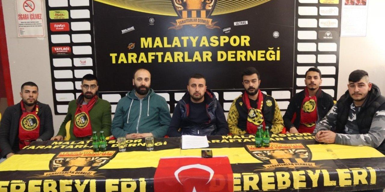 Yeni Malatyaspor taraftarından hakem tepkisi