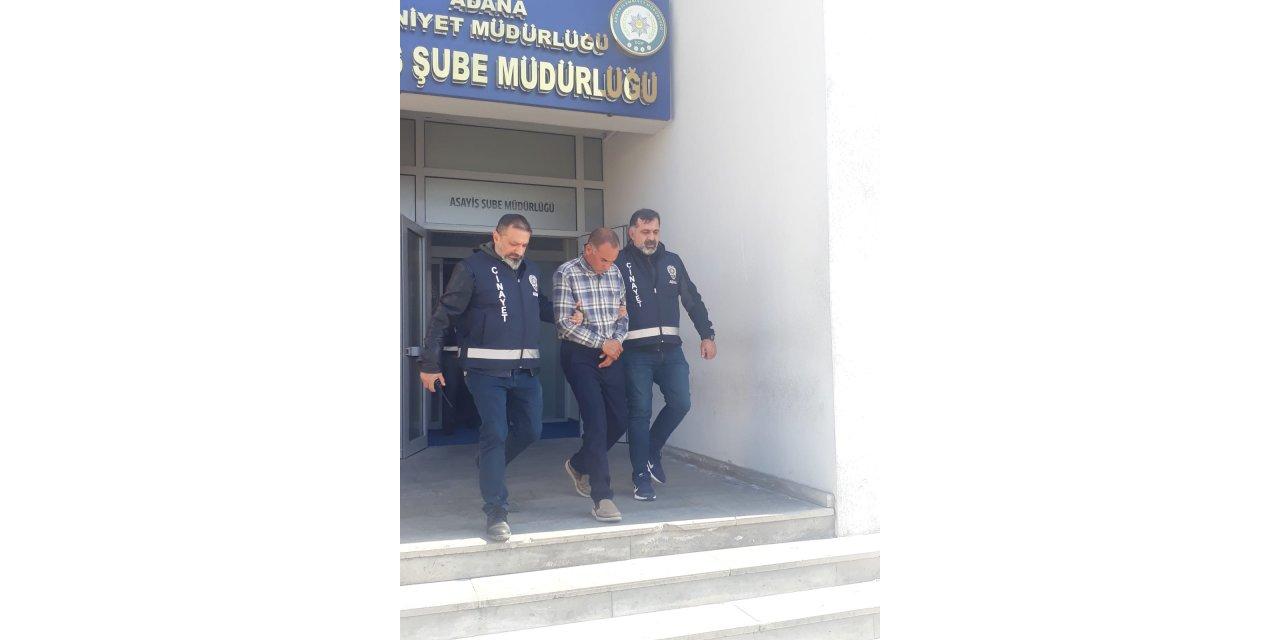Adana'da firari cinayet zanlısı yakalandı