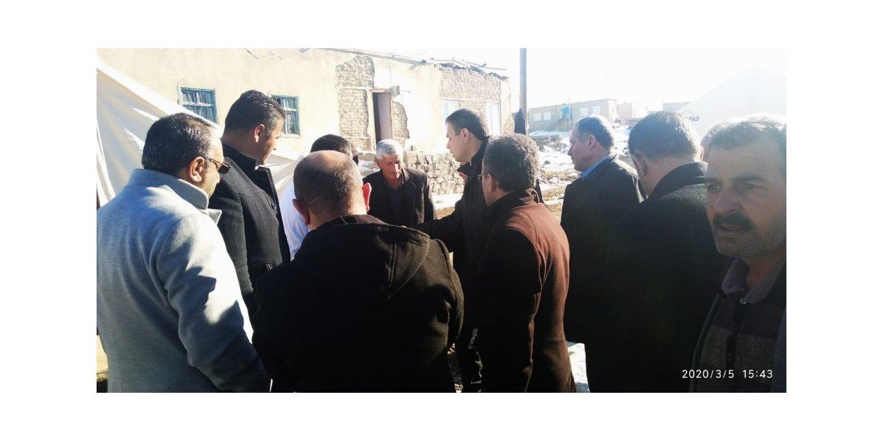 Saadet Partisi'nden deprem bölgesine ziyaret
