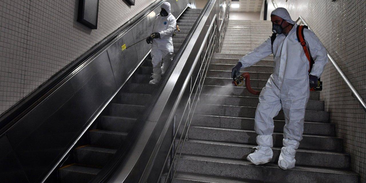 İzmir'de koronavirüse karşı dezenfekte çalışmaları hız kazandı