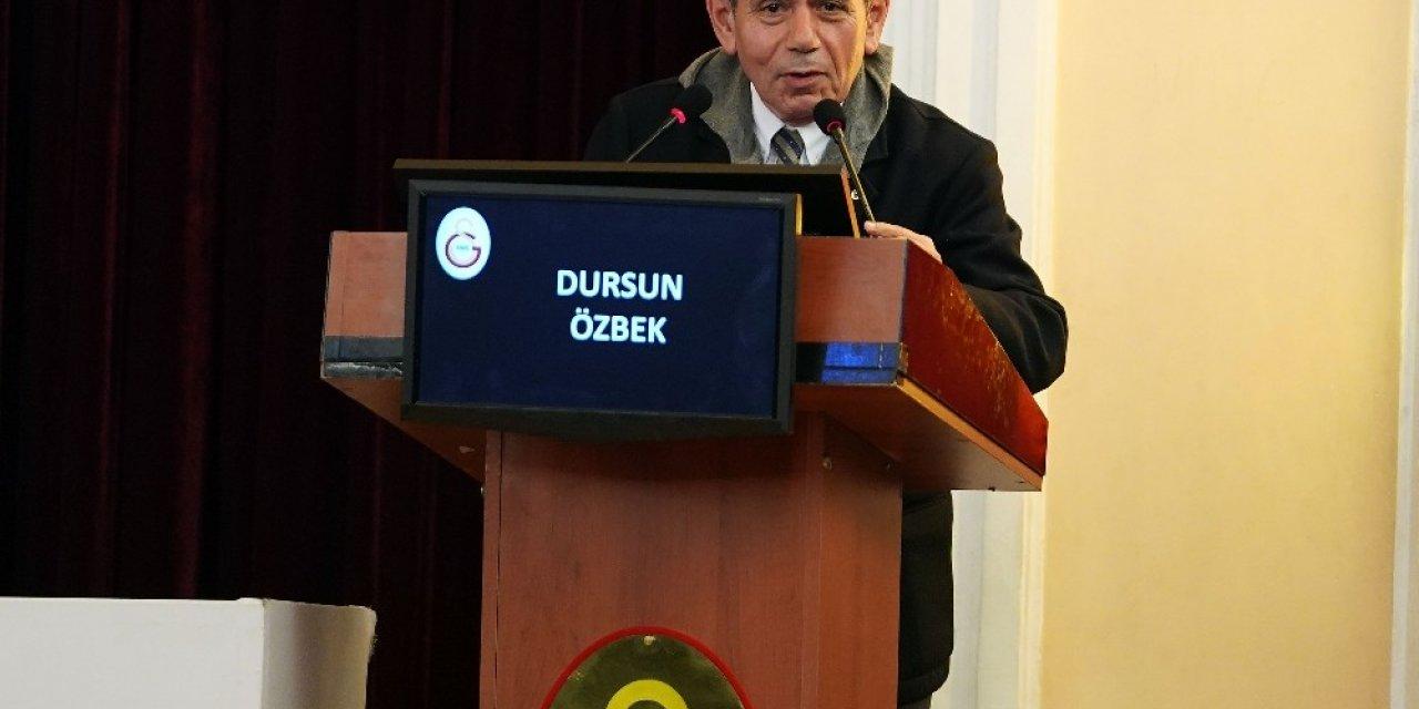 """Dursun Özbek: """"'Dursun Özbek hisseleri sattı' sloganını söyleyebilmek için bunu yaptılar"""""""