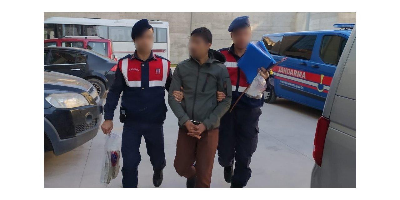 YHT hattından bakır kablo çalan hırsız tutuklandı