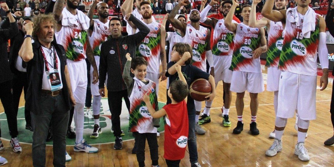 Pınar Karşıyaka'ya yarı finalde Alman rakip