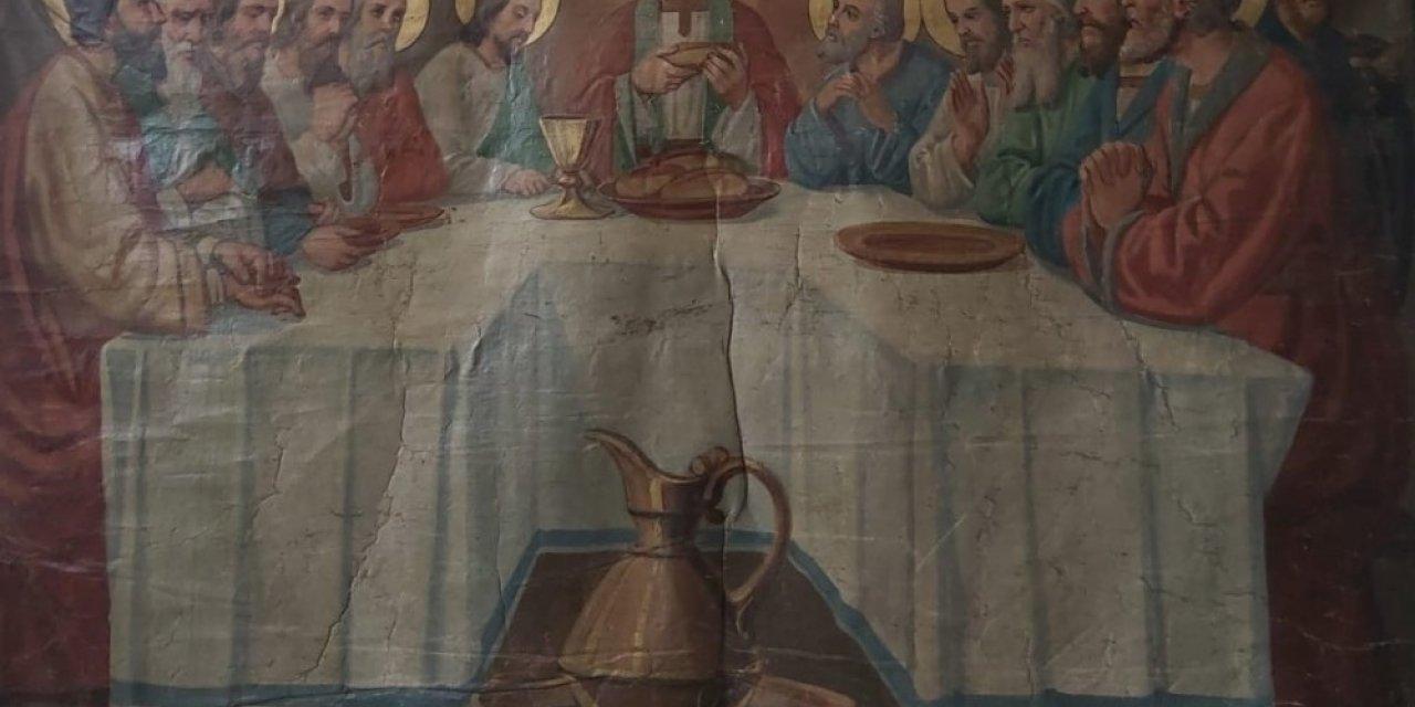 """""""İsa'nın Son Yemeği"""" tablosu satılmak isterken ele geçirildi"""