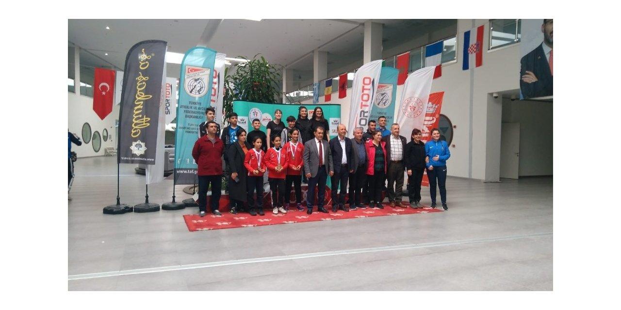 Havalı Silahlar Türkiye Şampiyonası'nda Kayseri Takımı Türkiye Rekoru Kırdı