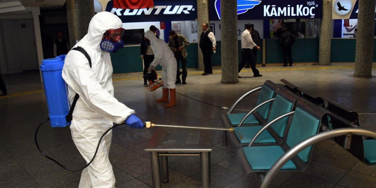 Konya'da koronavirüs tedbirleri