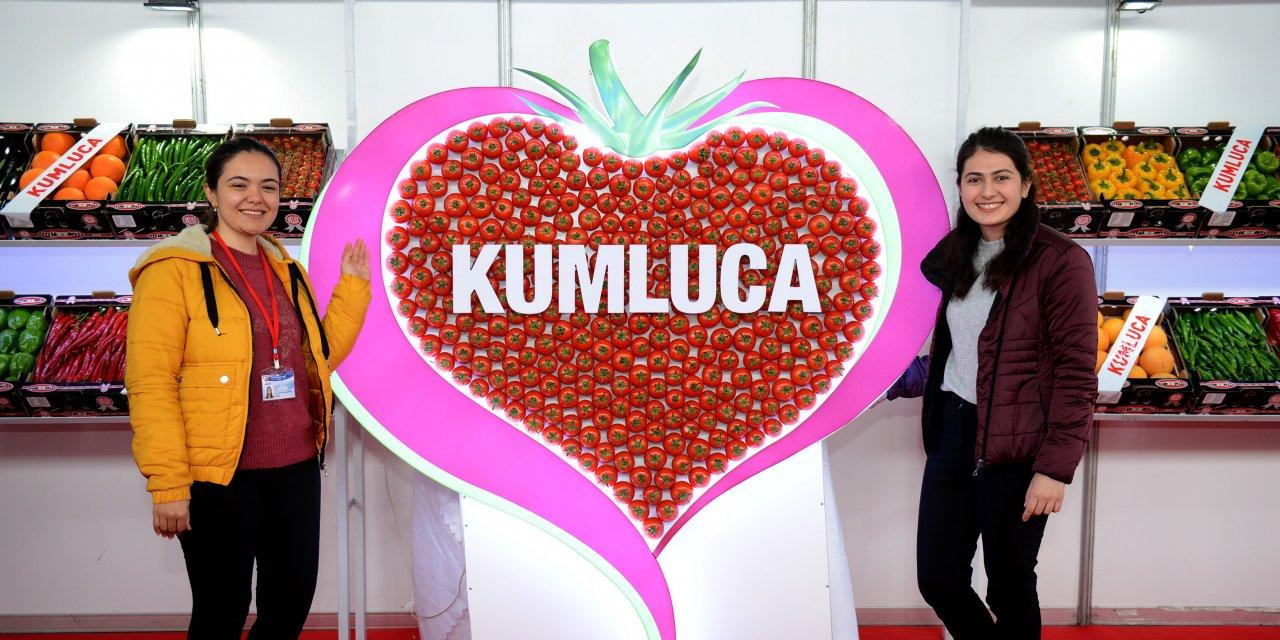 Kumluca'da Domates Yetiştiriciliği ve Teknolojileri Fuarı açıldı