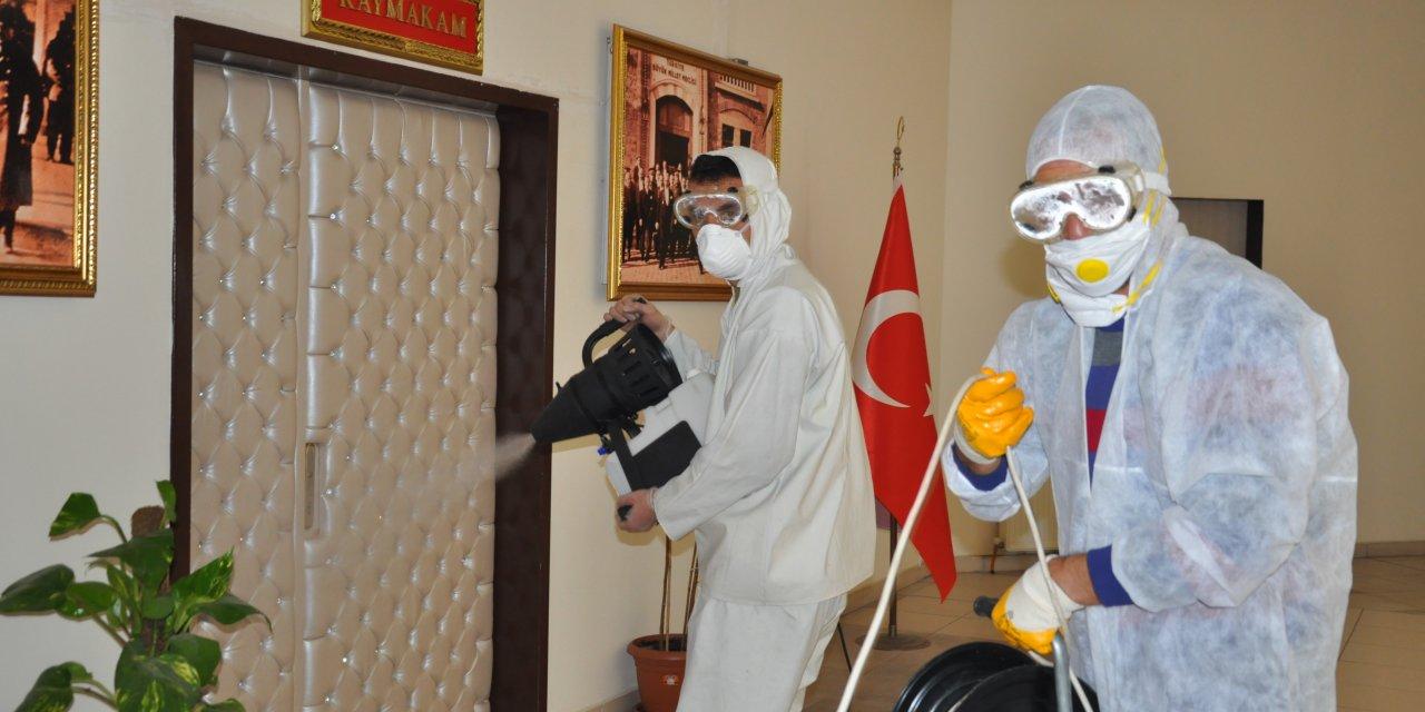 Akşehir Belediyesinden dezenfeksiyon çalışmaları