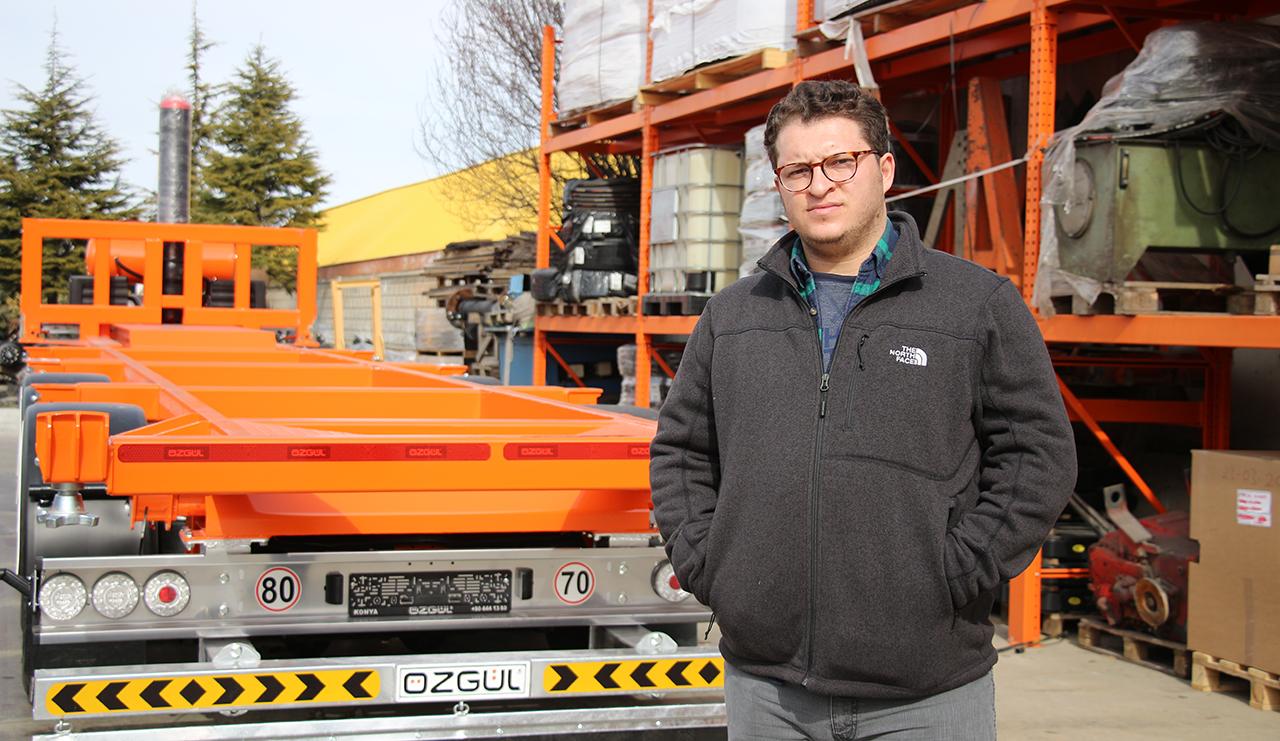 Konya'da üretilen kamyon ve tır dorseleri 35 ülkeye ihraç ediliyor