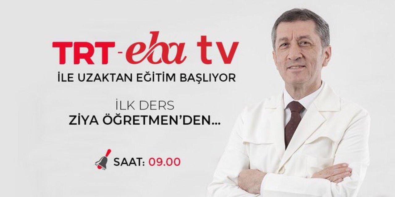TRT-EBA TV hangi kanallar ve frekanslardan yayında olacak?