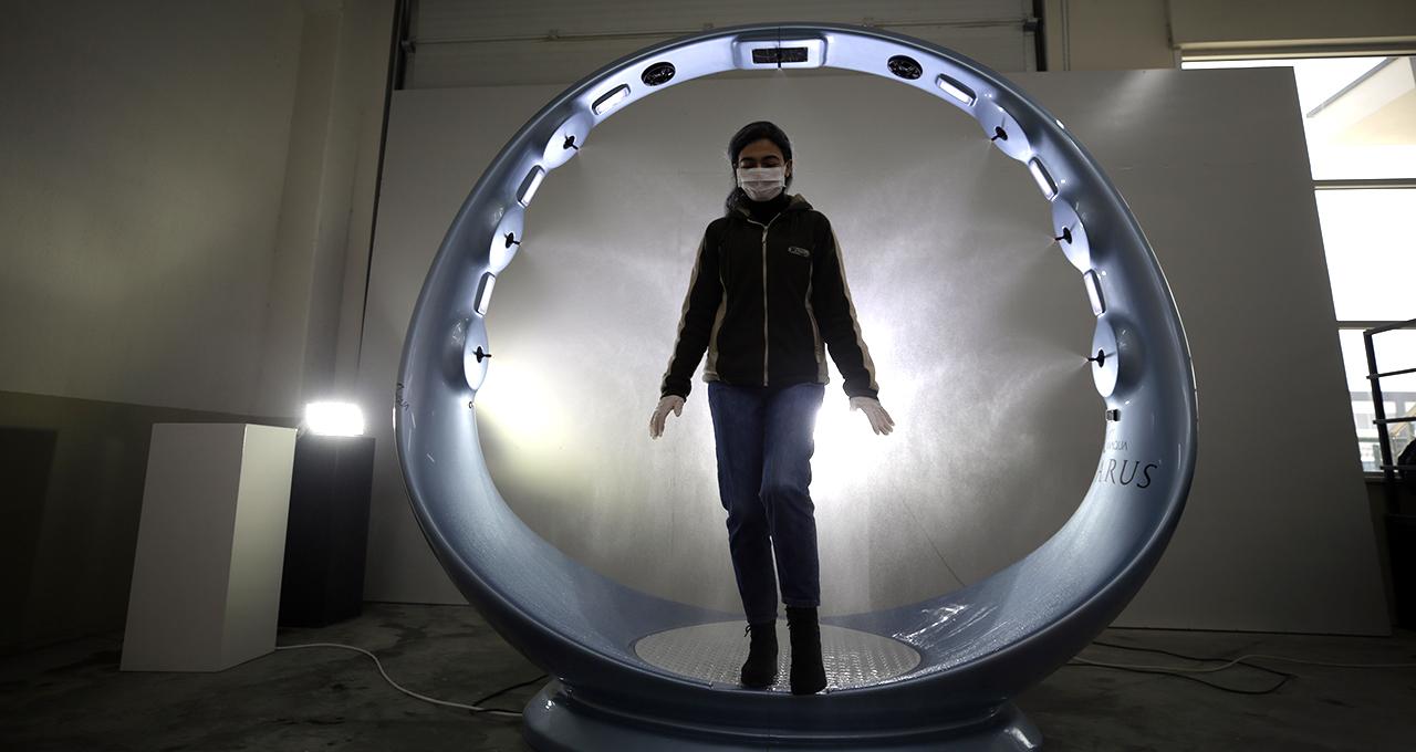 Konyalı firma koronavirüse karşı dezenfeksiyon cihazı üretti